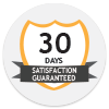 30 Days Satifsaction