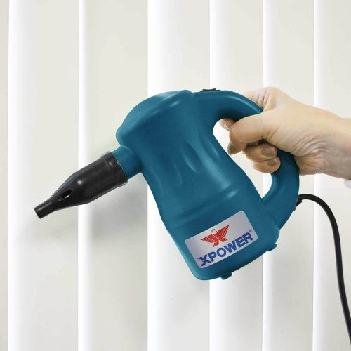 8 Nozzle Attachments Allow You to Work Throughout Your Home or Office as a Versatile Electric Duster and Air Pump
