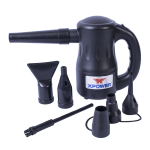 XPOWER A-2 Airrow Pro Duster - Black