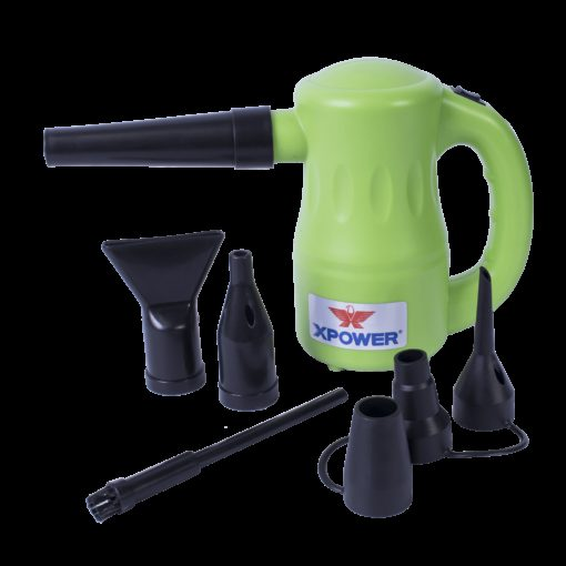 XPOWER A-2 Airrow Pro Duster - Green