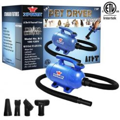 XPOWER B-3 2-in-1 Pet Dryer + Vacuum (2HP)