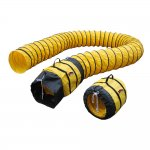 "XPOWER 16DH15 Flexible 16"" Diameter 15 Feet PVC Ducting Hose"