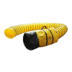 "XPOWER 12DH25 Flexible 12"" Diameter 25 Feet PVC Ducting Hose"
