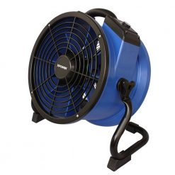XPOWER X-35AR 1/4 HP High Temp Sealed Motor Industrial Axial Fan with Power Outlets