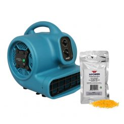 XPOWER P-450NT Scented Air Mover with Timer, Ionizer & 8 oz Aroma Beads Refill - Citrus Bliss