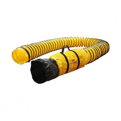 "XPOWER 8DH25 Flexible 8"" Diameter 25 Feet PVC Ducting Hose"