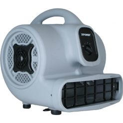 XPOWER P-400 1/4 HP Air Mover, Carpet Dryer, Floor Fan - Refurbished