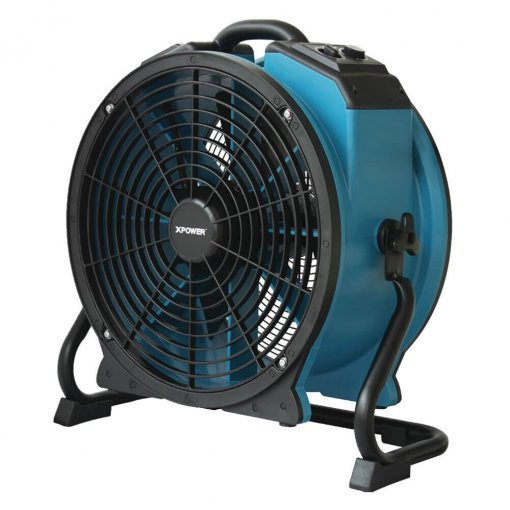 XPOWER X-47ATR 1/3 HP Sealed Motor Industrial Axial Fan with Timer & Power Outlets