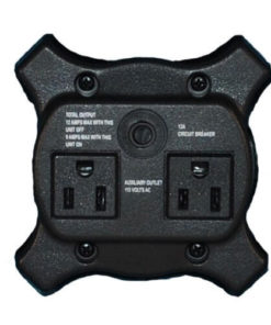 XPOWER X-400A Air Mover Grille Cover (Motor Side) with 2 Sockets