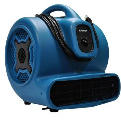 XPOWER P-830 1 HP Air Mover, Carpet Dryer, Floor Fan, Blower - Refurbished
