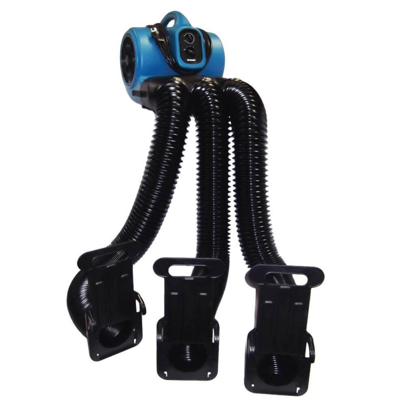 X-430TF-MDK Cage Dryer with Timer, Filter + Multi Cage Drying Hose Kit