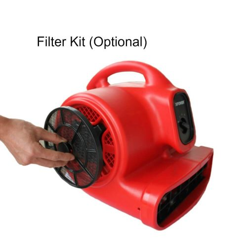 With the Filter Kit (FK) allows you to work in the dirty environments without having to worry about debris clogging the motor