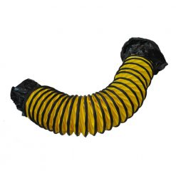 "XPOWER 8DH15 Flexible 8"" Diameter 15 Feet PVC Ducting Hose"