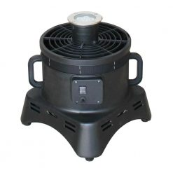 "XPOWER BR-430L 1/3 HP 12"" Diameter Vertical Advertisement Inflatable Blower Fan with LED Lights"