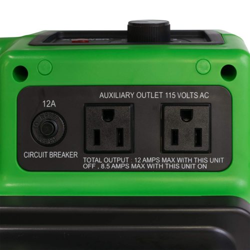 Built-in power outlets for daisy chain with dual thermal protection