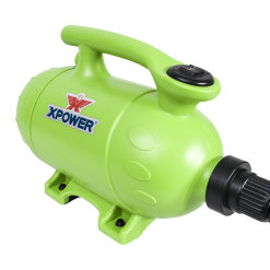 XPOWER B-2 Pro-At-Home Pet Dryer / Vacuum - Green