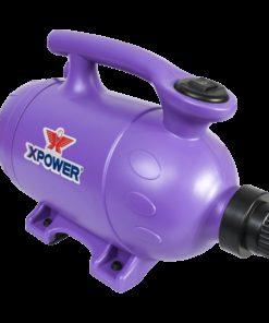 XPOWER B-2 Pro-At-Home Pet Dryer / Vacuum - Purple