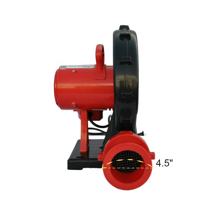 XPOWER BR-252A 1 HP 1000 CFM Indoor / Outdoor Inflatable Blower - Front View
