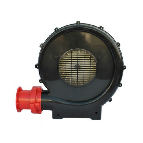 XPOWER BR-252A 1 HP 1000 CFM Indoor / Outdoor Inflatable Blower - Side View