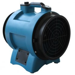 "XPOWER X-8 1/3 HP 8"" Industrial Confined Space Ventilator Fan"