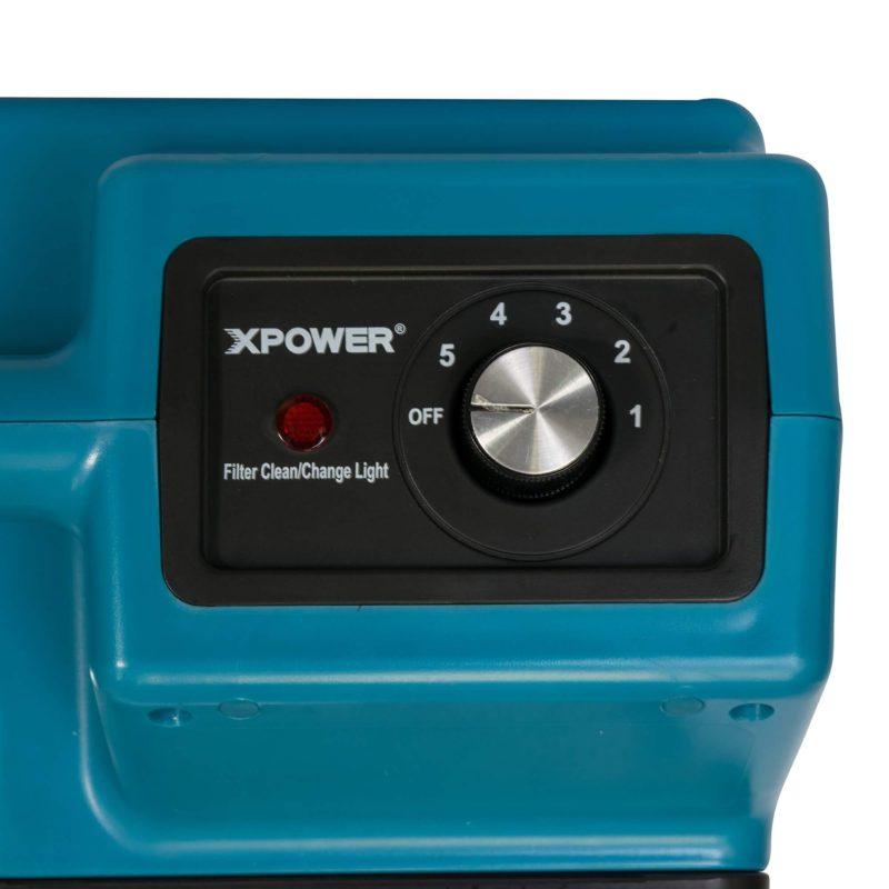 Mini Air Scrubber XPOWER X-2380A Pro Clean 3-Stage - Main