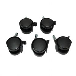 XPOWER B-16/18 Wheels With Lock 1 Set-5 Pieces
