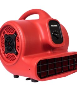 XPOWER P-430 1/3 HP Air Mover, Carpet Dryer, Floor Fan, Blower - Air Chaser Exclusive