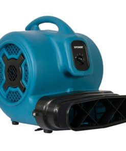 XPOWER P-815I 1 HP Sealed Motor Inflatable Advertising Air Mover, Blower, Fan