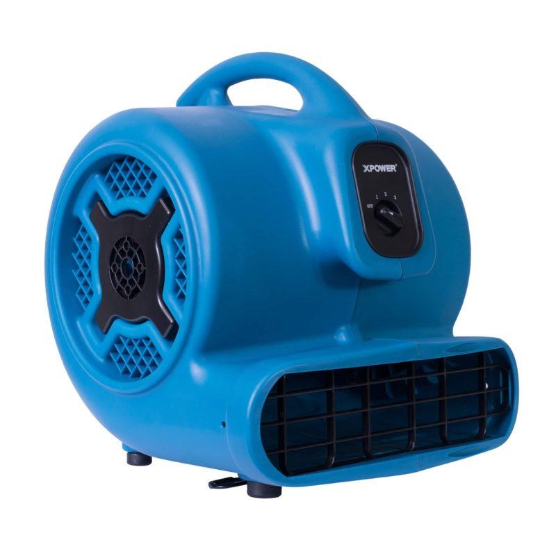 XPOWER P-800 3/4 HP Air Mover, Carpet Dryer, Floor Fan, Blower
