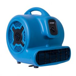 XPOWER P-830 1 HP Air Mover, Carpet Dryer, Floor Fan, Blower