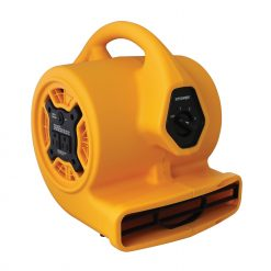 XPOWER P-130A 1/5 HP Mini Air Mover with Built-in Power Outlets