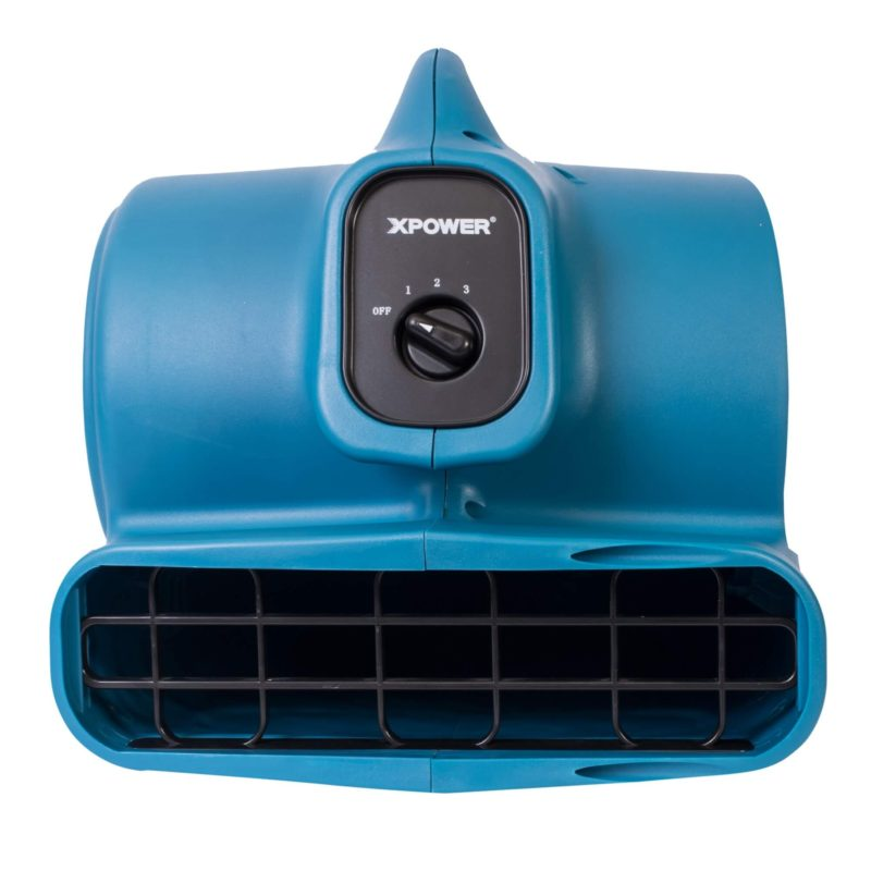 XPOWER P-400 1/4 HP Air Mover, Carpet Dryer, Floor Fan