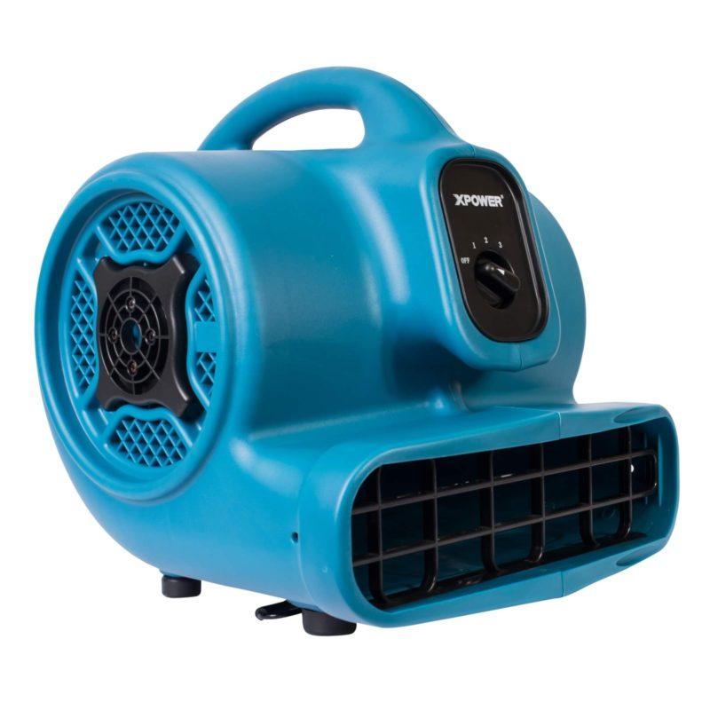 XPOWER P-400 1/4 HP Air Mover, Carpet Dryer, Floor Fan