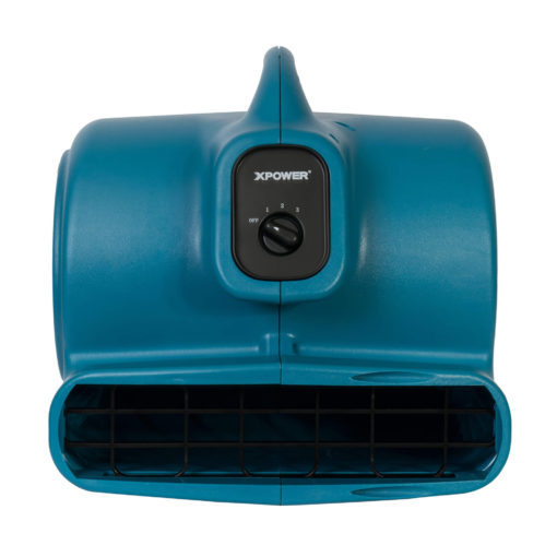 XPOWER X-600A 1/3HP Air Mover with GFCI Daisy-Chain (ABS)