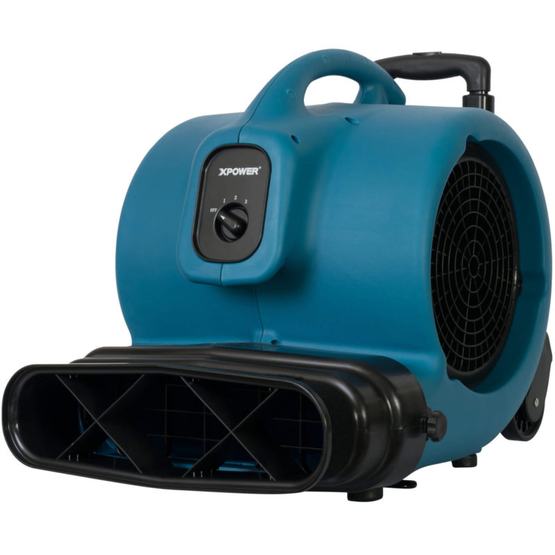 XPOWER P-800HI Inflatable Air Mover 3/4 HP with Handle Kit