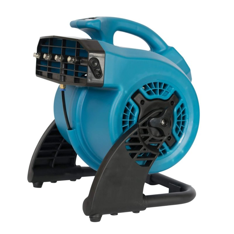 portable tankless misting fan