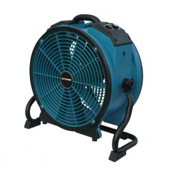XPOWER X-41ATR 1/3HP Variable Speed Industrial Axial Fan with Timer & Power Outlets