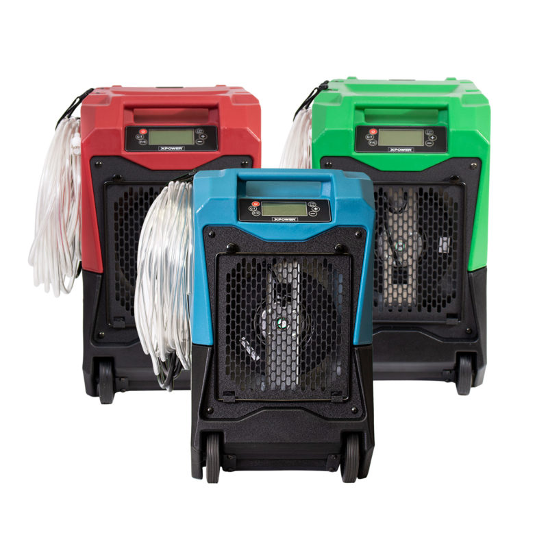 portable commercial LGR dehumidifier