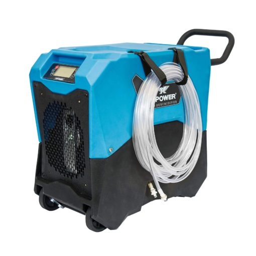 XPOWER XD-75LH Commercial LGR Dehumidifier with Handle & Wheels