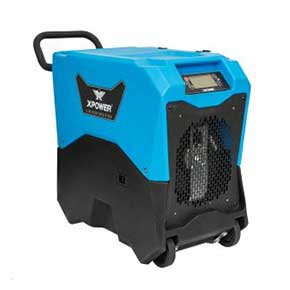 XPOWER XD-85LH Commercial LGR Dehumidifier w/ Handle & Wheels