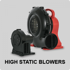 HIGH STATIC INFLATABLE BLOWERS