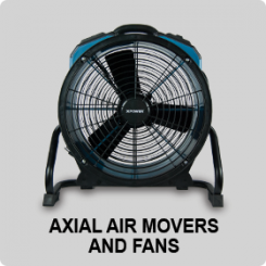 AXIAL AIR MOVERS AND FANS