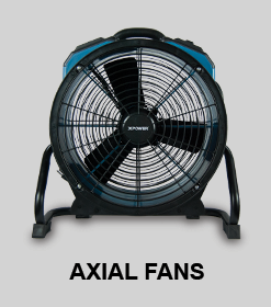 AXIAL FLOOR DRYER AND FANS