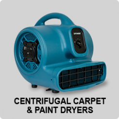 CENTRIFUGAL CARPET AND PAINT DRYERS