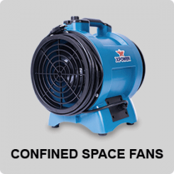 CONFINED SPACE FANS