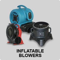 INFLATABLE BLOWERS