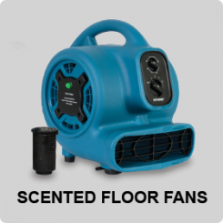 SCENTED FLOOR DRYER AND FANS