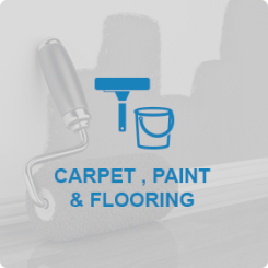 CARPET, PAINT AND FLOORING