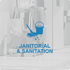JANITORIAL AND SANITATION