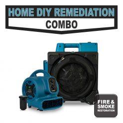 Fire smoke restoration package